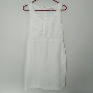 Loft cotton and linen dress